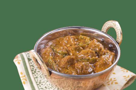 agneau épicé piment plat delices de linde restaurant indien mulhouse