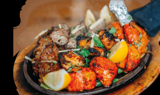 entrée legume viande delices de linde restaurant indien mulhouse