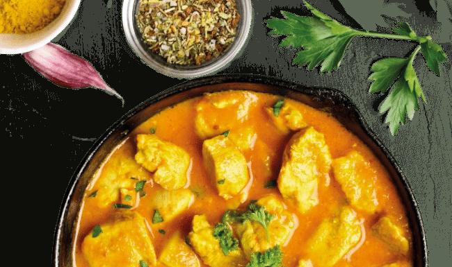 poulet curry delices de l'inde mulhouse